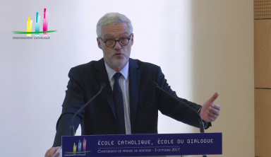 Rentrée 2017 : discours de Pascal Balmand