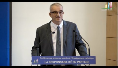 Conférence de presse de rentrée 2019 : la responsabilité en partage